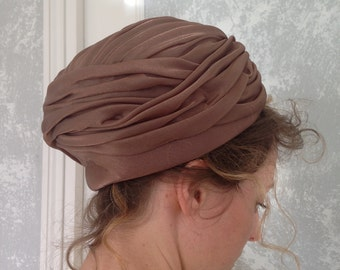 Vintage turban style hat from the 1940s