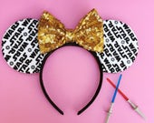 Star Wars Ears with SEQUIN BOW