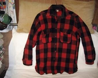 Wool shirt jacket   Etsy