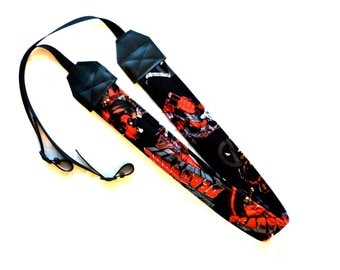 Deadpool dSLR Complete Camera Strap! This is a full strap not a cover! Standard Size