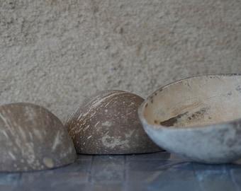 12 PC Coconut Cups, Coconut Shells, Wholesale Bulk Coconut Cups, Bulk Coconut Cups, Bulk Coconut Shells, Coconut Cup, Coconut Halves