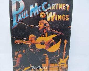 Paul McCartney and Wings by Tony Jasper 1977