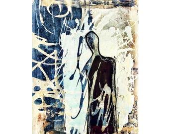 "Art Print ""Solitary No.2"""