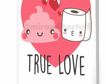 Greeting Card Love Friendship Kawaii