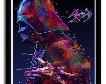 Affiche Star W par ALESSANDRO PAUTASSO