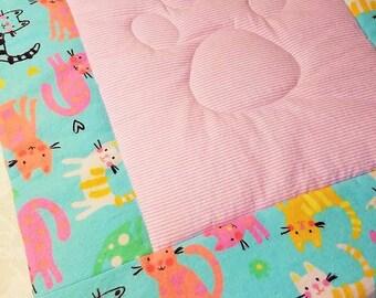 Pet Blanket, Cat Blanket, Crate Pad, Blanket, Carrier Pad, Small Blanket