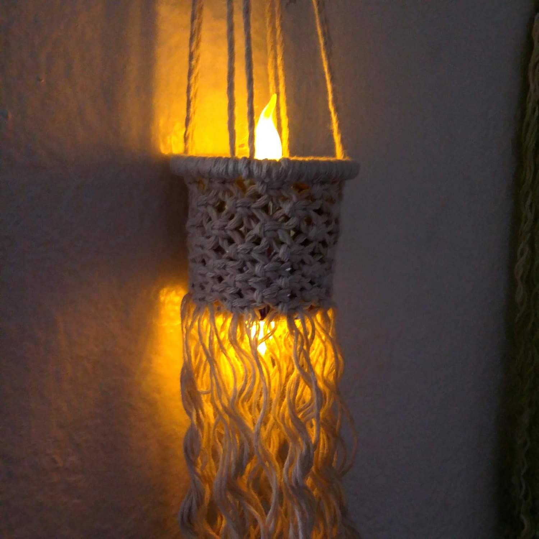 Led night light south africa - Bedroom Lights Boho Hanging Lighting Baby Night Light Led Light Candles Macrame Wall Hanging Boho Macrame Nursery Gifts Hanging Lantern Gift