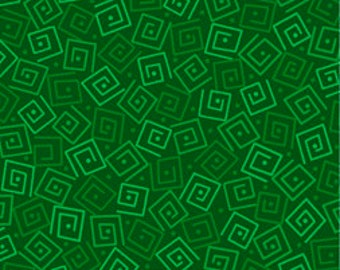 Squares - Jungle 24779-G by Quilting Treasures Cotton Fabric Yardage