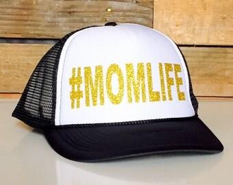 MOMLIFE Trucker | #MOMLIFE | #momlife Hats | Mom Truckers | Mom Hats | Mothers Day Gift Ideas | Mom Gift | Hats for Moms | Soccer MOM