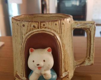 Vintage GEMPO Ceramic  bear mug