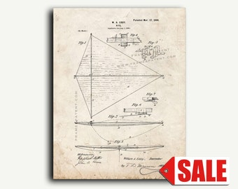 Patent Print - Kite Patent Wall Art Poster