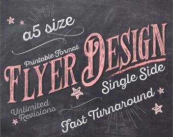 Flyer Design, Flyer, Flyers, Flyer Design Service, Photography Flyer, Business Flyer, Custom Flyer, Leaflet Design - SINGLE SIDE