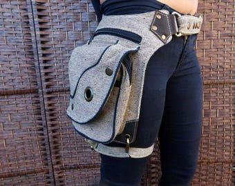 High Quality utility Canvas Pocket Belt,Festival Belt,Hip Belt,Travel Belt,Fanny,Pack,Hip Belt,Hip Bag,Burning Man,Festival Clothing Gift