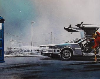 Dr Who & Back To The Future