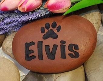 Pet Memorial Idea - Pet Memorial Marker - Remembrance Gift - Sympathy Stone - Pet Memorial Stone - Engraved Memorial Stone - God Rocks