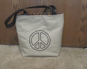 GIVE PEACE a CHANCE Bag