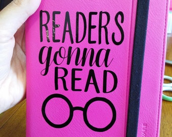 Readers Gonna Read * Kindle decal