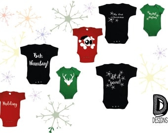 Childrens Christmas Hoody and Vests