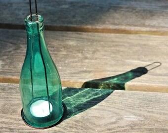 Vintage Bottle Lantern