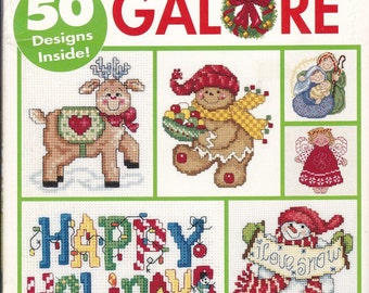 "Cross Stitch Patterns.  "" 50 Christmas Ornament Patterns "". 3980."