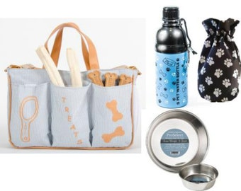 Dog Travel Gift Package - Striped