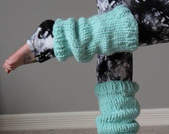Slouchy Merino Leg Warmers - Ready to Ship - Dancer Leg Warmers one size fits most