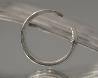 Silver Plated Fork Tine Ring
