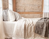lightweight linen blanket bedspread coverlet made in Maine U.S.A.