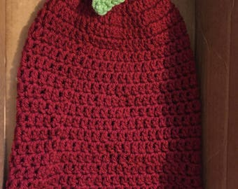 Red Delicious Apple Slouchy Beanie