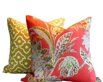 Kravet Pillow Cover Ishana Festival