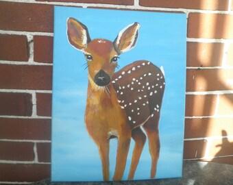Deer Nursery Art, #3, 11 x 14