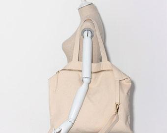 Tote bag / canvas / gift / travel bags _ Super flat bag