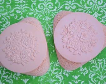 Vintage Avon Powder Pak Compact Pair For Dressing Table Vanity Table Original Boxes Decorative Pink Cases Boudoir Display Vintage Gift!