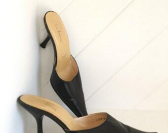 Stiletto Slip On 's, Size 7, Stiletto Mules