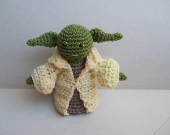 Star Wars Yoda amigurumi handmade