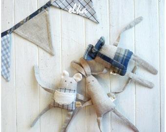 Set textile toys / Набор текстильных игрушек