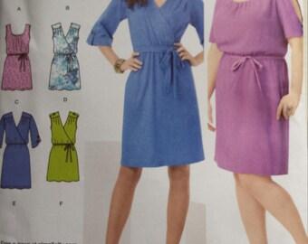 New Uncut Simplicity 1796 Plus Size Dress Pattern