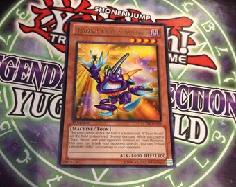 Yugioh Card - Toon Cannon Soldier - LCYW-EN109 - Rare 1st edition