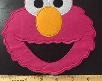 Ready to ship OOPs PINK elmo patch