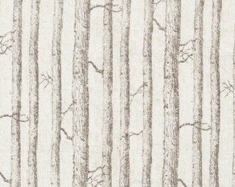 Birch Trees Cotton Woven by Timeless Treasures
