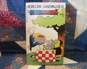 Broom-Hilda Popcorn Sandwiches Book 7 by by Russell Myers mass market paperback illustrated cartoons 1977