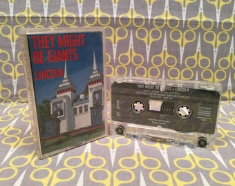 Lincoln by They Might Be Giants Cassette Tape rock