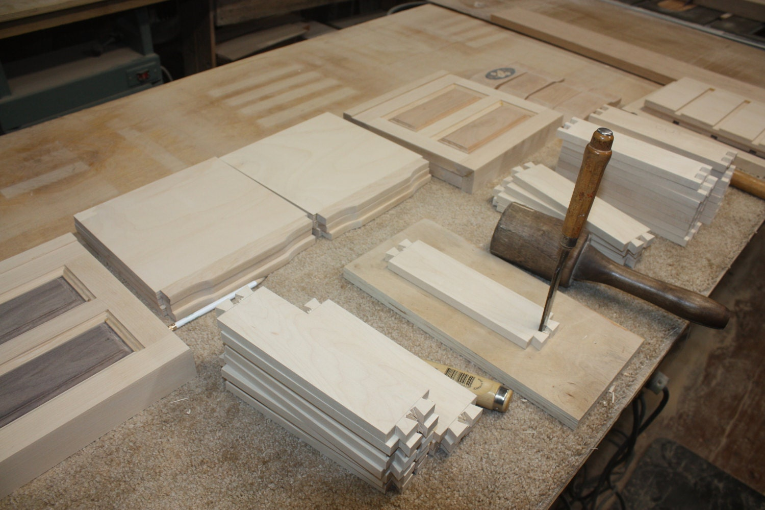 Making Maple Dovetail Drawers for Jewelry Box