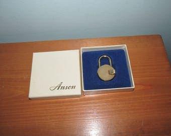 Vintage Anson Mini Lock