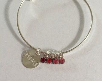 Mimi charm bracelet