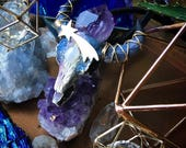 Galactic Intuition Enlightened Longhorn Necklace 8/9