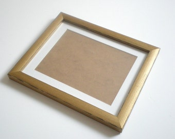 gold picture frame 16x20 frames gold photo frame rustic frame 40x50cm wood frame weddings gift wood home decor handmade by solidwoodshop