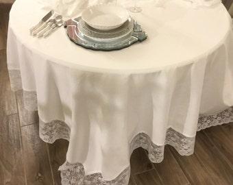 Shabby Chic Tradução tablecloth