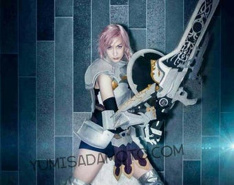 LIGHTNING farron - Final Fantasy 13-2 cosplay print FF13-2