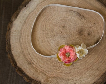 Newborn Baby Headband - Flower Headband